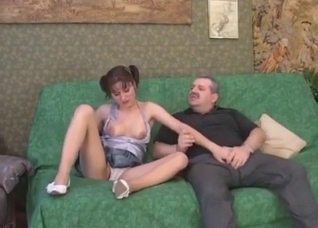 Sexy young babe and her disgusting uncle