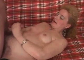 Filthy mommy gets banged by her own son