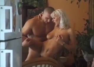 Busty auntie sucks her nephew with love