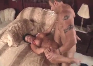 Big-boobed mom is trying filthy incest with her son